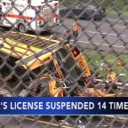 School bus driver in deadly NJ crash had history of violations
