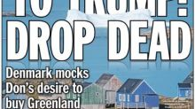 New York Daily News Reworks Iconic Headline To Mock Trump's Greenland Idea