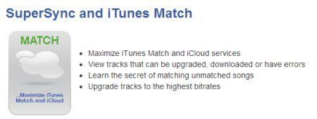 SuperSync 5 will add support for iTunes Match