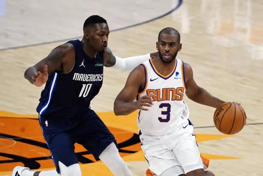 Booker, Bridges, Suns'a Mavericks 106-102'yi geçerek yeni bir görünüm kazandırdı