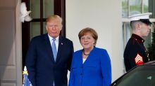 Donald Trump asked Angela Merkel for advice on how to deal with Vladimir Putin