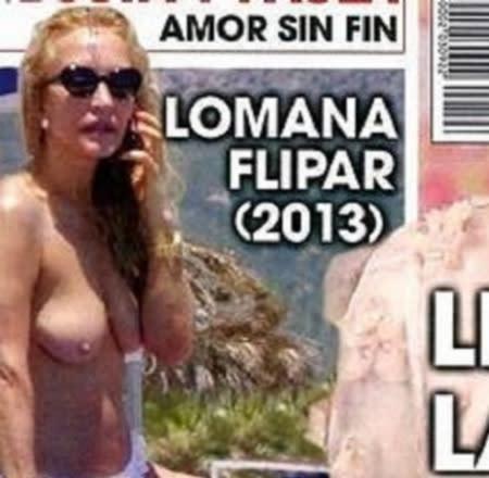 Carmen Lomana Espectacular En Topless
