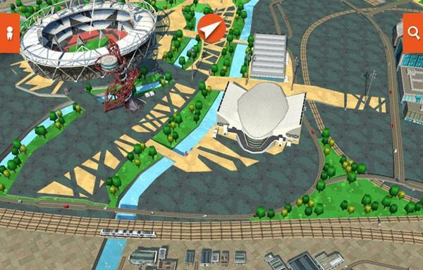 New Recce 3D map app offers location-based services and games, Sim City possibilities abound