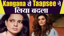 Taapsee Pannu Shares Old Video Of Kangana Ranaut Interview