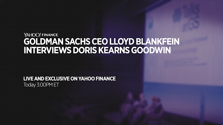 Talks at GS: Lloyd Blankfein interviews Doris Kearns Goodwin