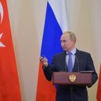 Russian police deploy in Syria's Kobani, Trump says ceasefire permanent