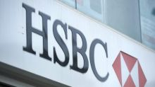 World stocks mostly grind higher, but HSBC weighs