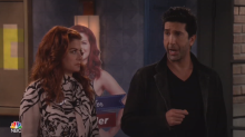 David Schwimmer is the opposite of Ross on 'Will & Grace'