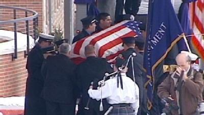 Funeral Held For KC Firefighter