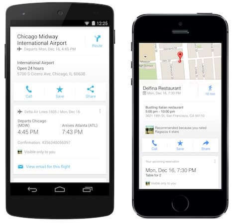 Google brings flight, hotel and restaurant reservations to Maps for iOS (update: Android too)