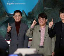 Shares in K-pop group BTS' management label Big Hit drop after debut