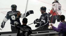 Kings beat Ducks 4-1 as fans return to Staples Center