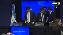 """Ministro recomienda una renegociación """"rápida y amigable"""" de la deuda argentina"""