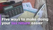 Five ways to make doing your tax return easier
