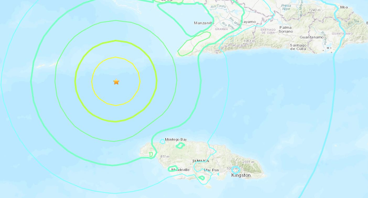 Jamaica hit by 7.7 magnitude earthquake