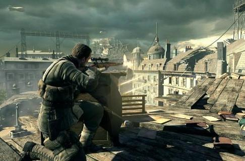 Sniper Elite V2 shoots straight to top spot in UK