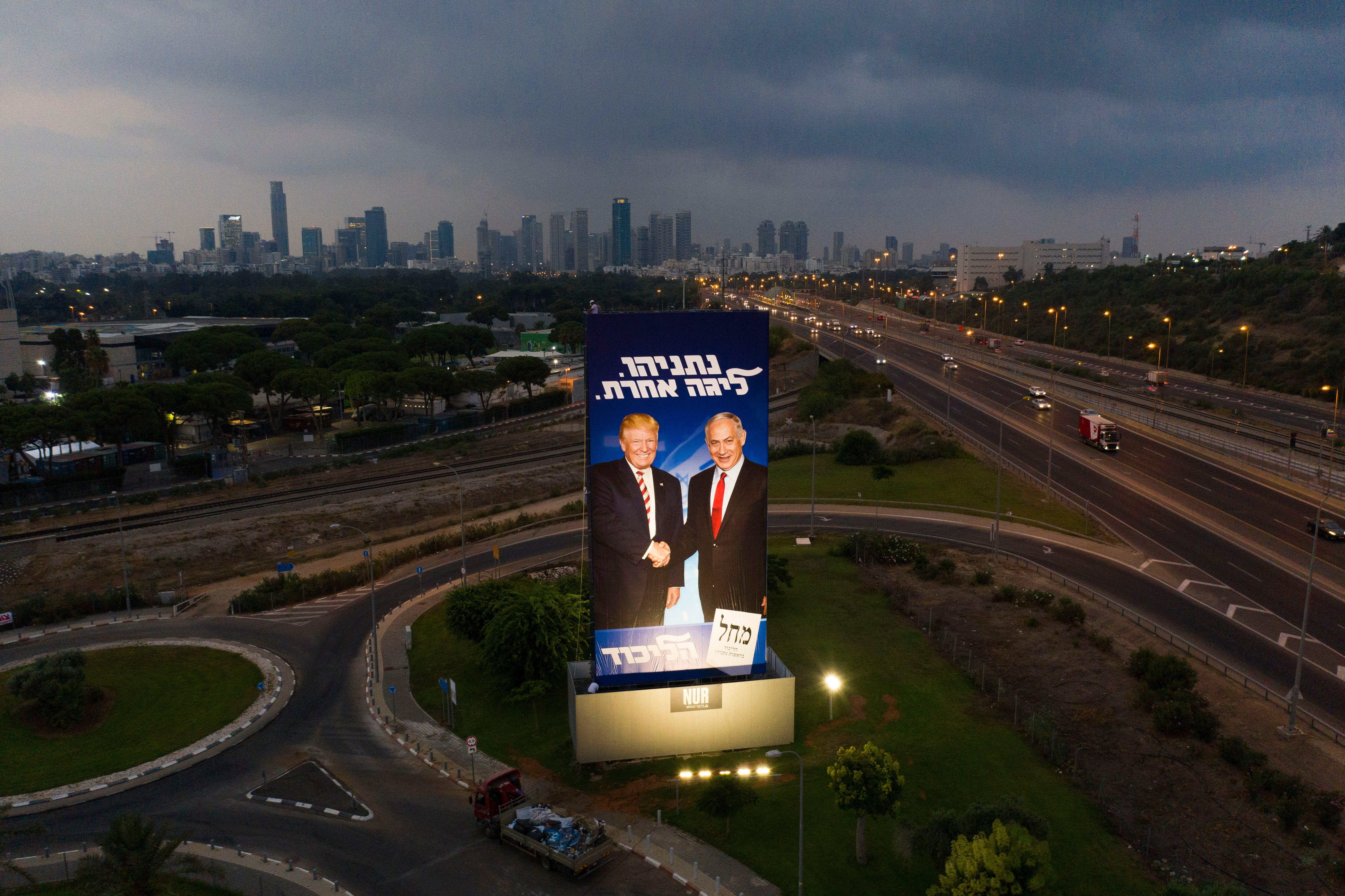 Israel election: Donald Trump proves he's the 'King of Israel'