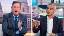 Piers Morgan argues with Sadiq Khan over baby Donald Trump air balloon