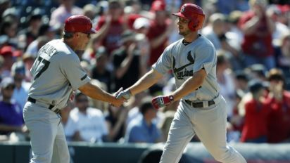 Cardinals rookie hits homer in first MLB at-bat