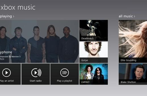 Windows 8 Music update brings in-app searching, login-free trial streaming
