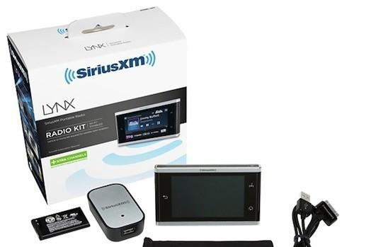 Sirius XM Lynx receiver leaks out courtesy of Best Buy