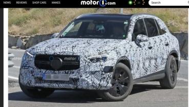 最快今年底登場,M.Benz 大改款 GLC 卸下部分偽裝!