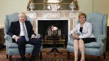 Boris Johnson rejects request for second Scottish independence referendum