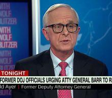 George H.W. Bush deputy attorney general says ex-colleague Barr is creating a 'banana republic'