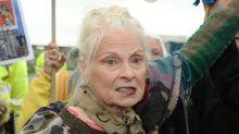 Fashion Designer Dame Vivienne Westwood Performs Protest Dance At Fracking Site