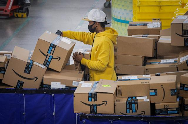 Amazon sued by New York over 'flagrant disregard' for COVID-19 safety