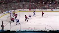 Braden Holtby makes three stops on Markov