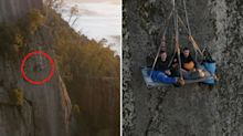 Would you pay $1600 to sleep on a bed hanging off a cliff?