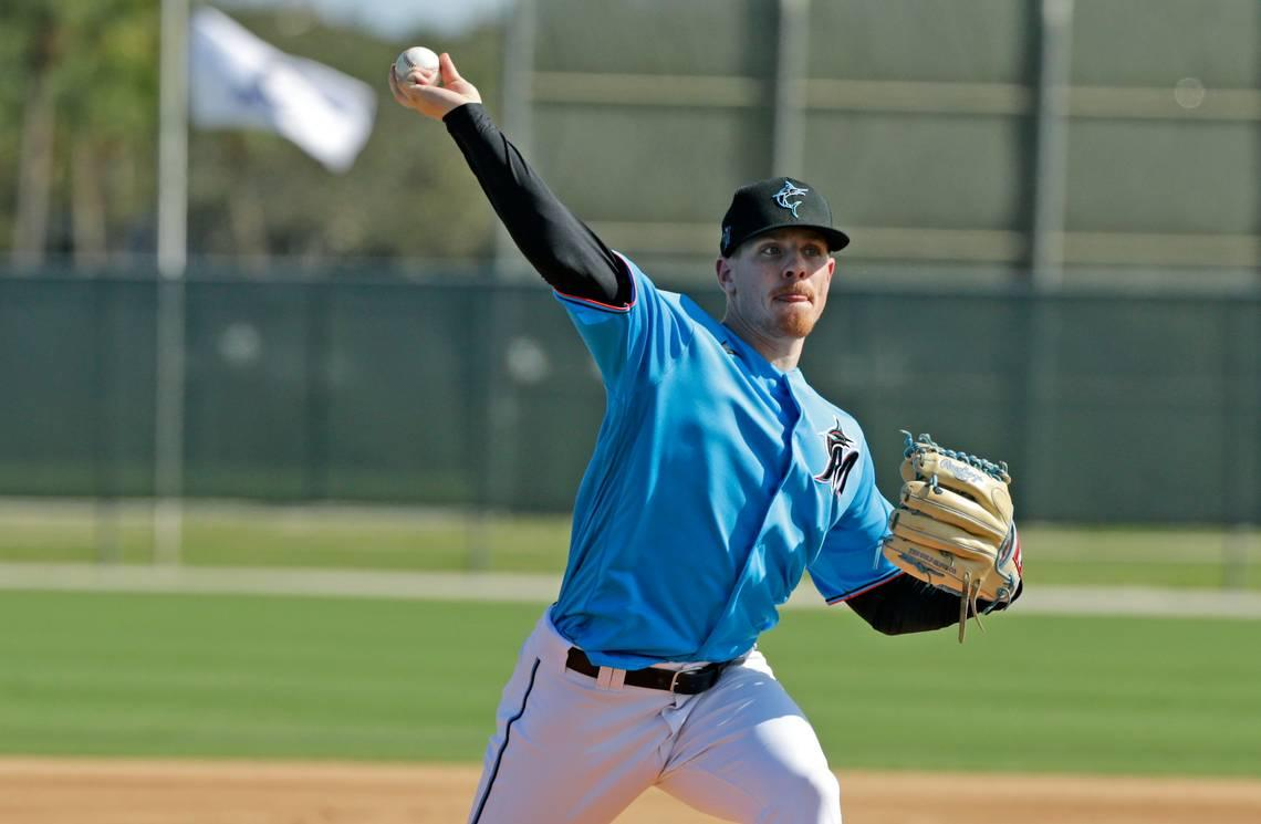 Marlins relievers highlight latest batting practice session. Here's who impressed most.