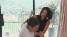 Kim and Kourtney Kardashian's feud turns into a physical fight on 'KUWTK'