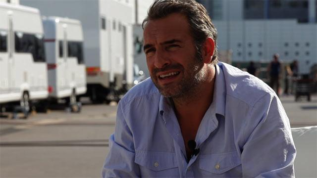 Jean Dujardin dans Möbius - Making-of