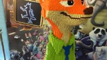 'Zootopia' Lego Statue an Amazing Tribute — Too Bad It Wasn't Childproof