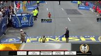 Watch: Caroline Rotich Wins Closely Contested Boston Marathon Women's Race