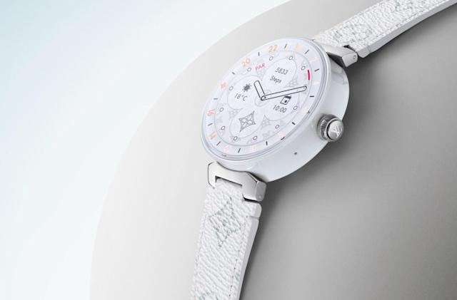 Louis Vuitton's pricey smartwatch gets a big upgrade for 2019