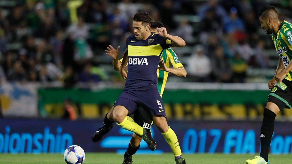 Sin Gago, Boca jugó a otra cosa