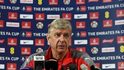 Arsene Wenger admits Arsenal are in defensive crisis and tips Shkodran Mustafi to miss FA Cup final