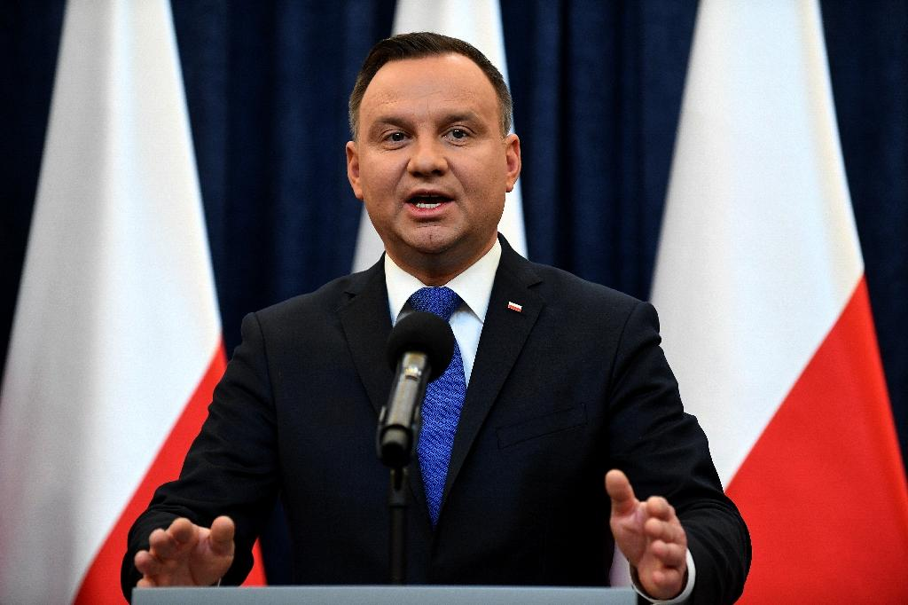 PiS party protege Polish President Andrzej Duda proposed that a referendum for a new constitution could focus on issues like giving the president greater powers to the supremacy of Polish laws over EU ones
