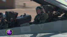 Larry Emdur turns 'Top Gun' for a day