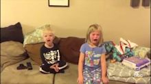 Watch Kids Flip Out When Their Parents Say They Ate All The Halloween Candy