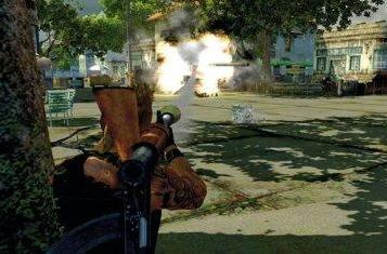 Mercenaries 2 lets you destroy just about anything