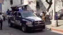 Algún secreto sabe la policía de México: llama a los extraterrestres a quedarse en casa
