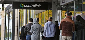 Centrelink workers join the queue as 600 axed