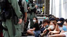Reaction to Pompeo's remark that Hong Kong is no longer autonomous