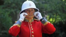 Canadian soldier becomes first female infantry officer to captain UK queen's guard