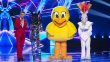 Two chart-topping popstars unveiled in 'The Masked Singer' double eviction