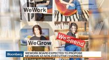 WeWork's Neumann Faces Bid to Oust him as CEO